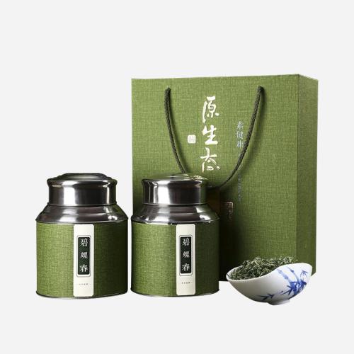 洞庭山原产碧螺春-清爽绿茶大分量礼盒500g
