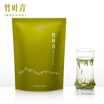 【春茶现货】竹叶青茶叶2020新茶峨眉高山绿茶特级(品味)袋装100g
