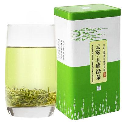 高山云雾毛峰绿茶特级茶叶浓香型散装500克