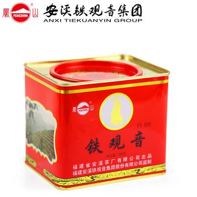 凤山安溪铁观音集团茶叶浓香型乌龙茶罐装铁观音秋500G